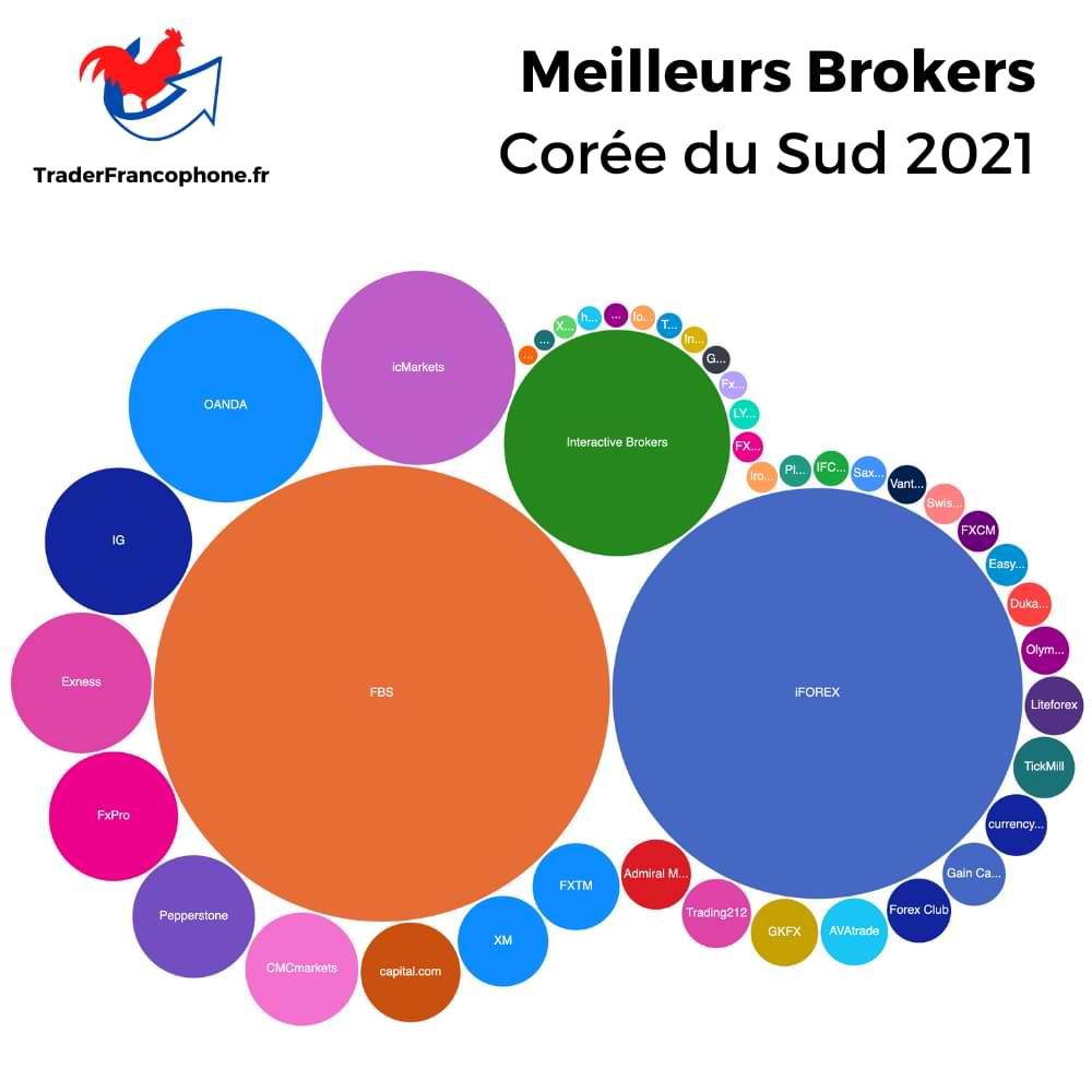 Meilleurs Brokers Corée du Sud