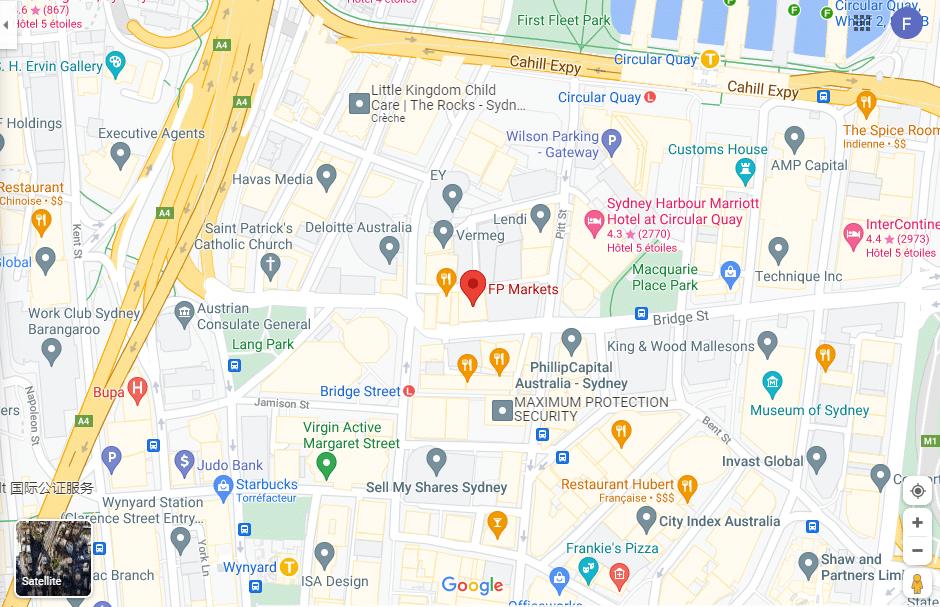 FP Markets avis Location