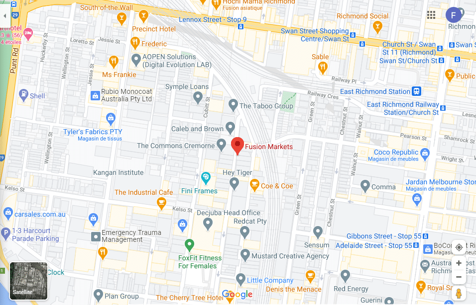Location Fusion Markets